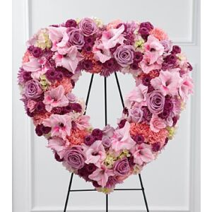 S28-4501 - The FTD Eternal Rest Standing Heart