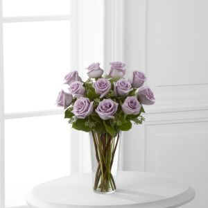 The Lavender Rose Bouquet by FTD - VASE INCLUDED